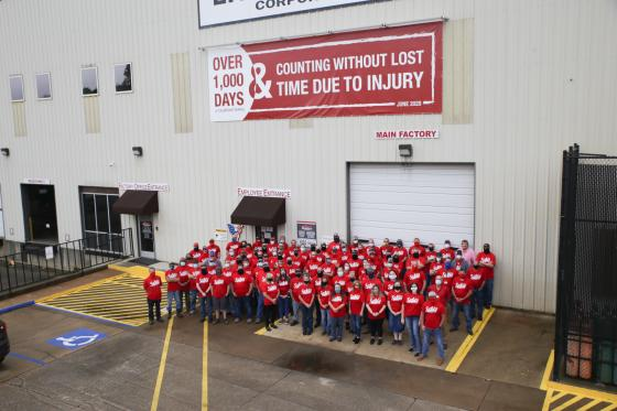 Allen Engineering Celebrates Over 1,000 Days Without Lost Time Due to Injury