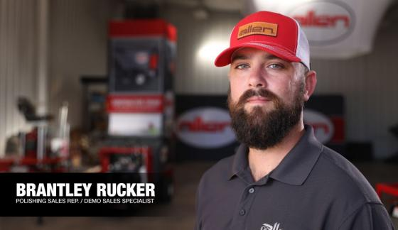 Brantley Rucker Named Polishing Sales Representative / Demo Sales Specialist
